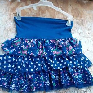 Girls Ruffled Skirt 1989 Place Size 10